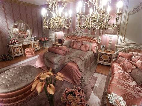 Mountain Home Interiors 187 pink classic style italian bedroomtop and best italian