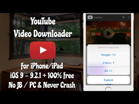 download youtube for iphone update any video downloader for ios 10 10 2 1 10 3