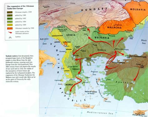 since 1354 the ottoman turks had been advancing westwards