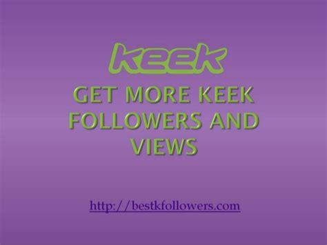 get 100 followers get 100 keek followers instantly