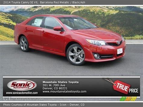 2014 Toyota Camry Se V6 Barcelona Metallic 2014 Toyota Camry Se V6 Black