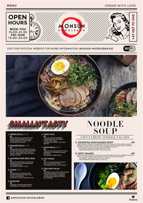 menu design norway bold playful menu design for monsun restaurant as by