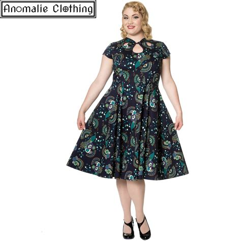 banned apparel days proud peacock cut out dress
