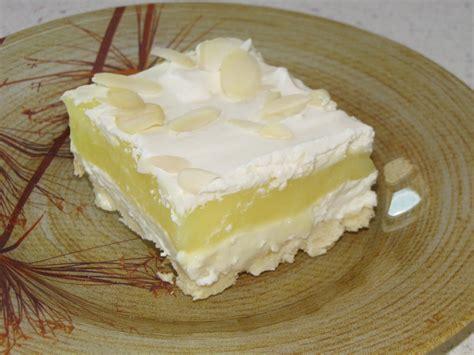 homemaking pilgrim layered lemon dessert
