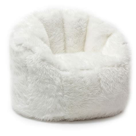 Design For Faux Fur Bean Bag Chair Ideas Faux Fur Bean Bag Chair Design Home Furniture Ideas