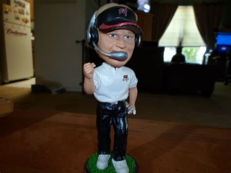 bobblehead auction free jon gruden bobble other collectibles listia