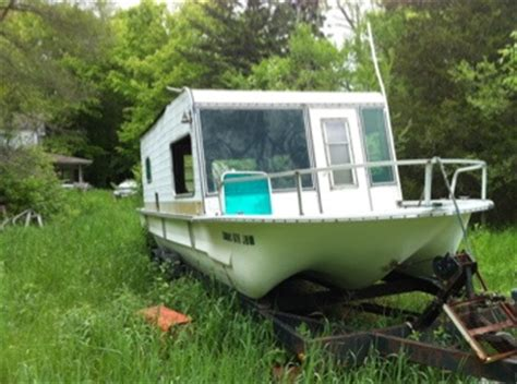 dinghy houseboat boats for sale by owner 1972 25 foot yukon delta house