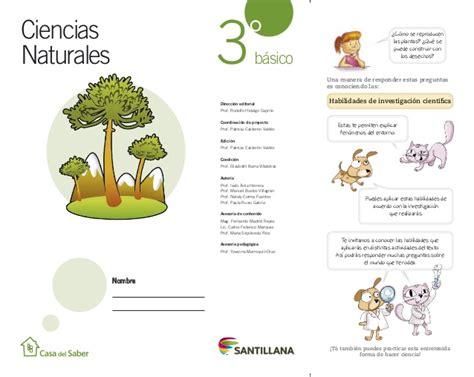 libro de tercero de primaria ciencias naturales caja toraxica ciencias naturales 3ro santillana