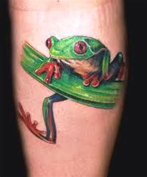 tree frog tattoo designs 40 frog tattoos tattoofanblog