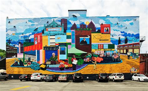 Murals For Outside Walls graffiti wall mural the strip pittsburgh phil haber