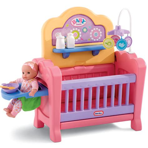 Tikes Doll Crib by Tikes 4 In 1 Baby Doll Nursery Only 19 97 Reg