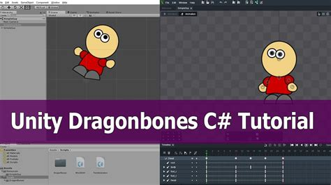 animation tutorial in unity dragonbones unity tutorial import animation with c youtube