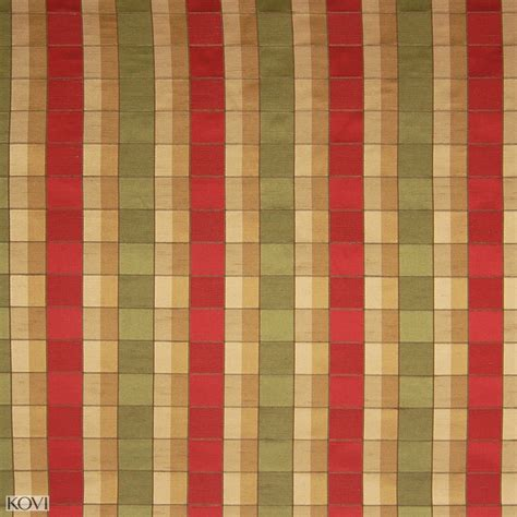 check fabrics upholstery farmhouse gold and red check woven upholstery fabric