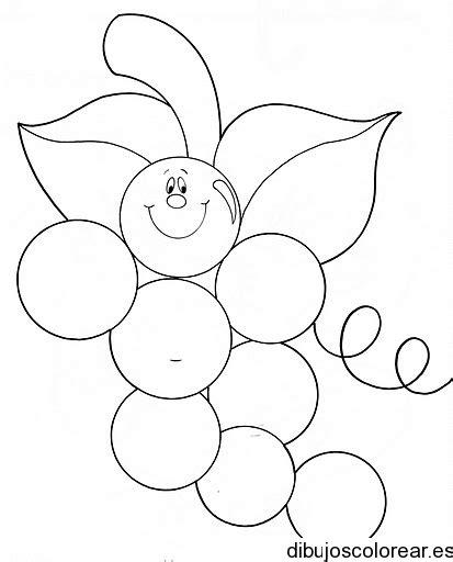 dibujos infantiles uvas dibujo de uvas que sonr 237 en