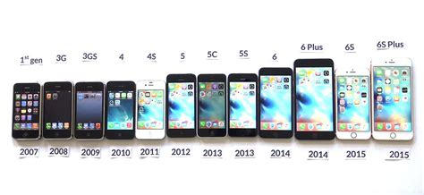 iphone generations eastside an evolution a look at the changes in iphones and ios time
