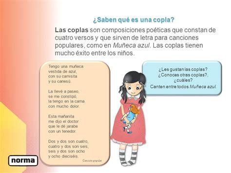 copla de la tuza coplas infantiles canciones para nios las rimas y las coplas ppt video online descargar