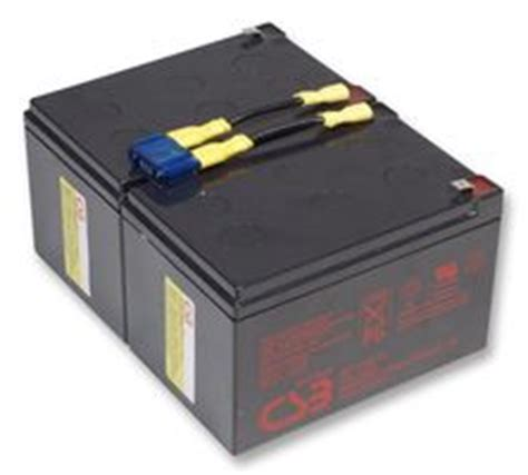 Apc Universal Battery Adds 6 Hours Of To Your Laptop by Replacement Lead Acid Ups Battery Compatible With Apc Rbc6
