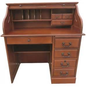 cherry 42 quot student roll top desk cedar hill furniture