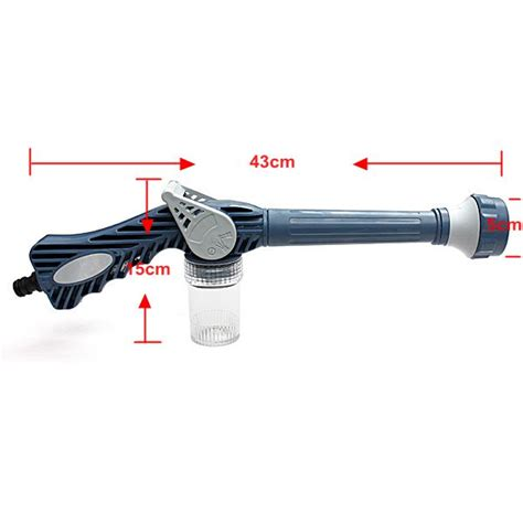multifunction ez jet water cannon 8 in 1 turbo water spray