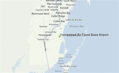 homestead air force base map of florida airport locations map of south florida