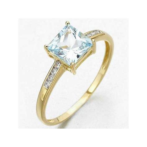Cincin Aquamarine cincin wanita ring 6 aquamarine cz model klasik