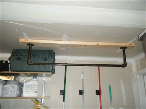 Pull Up Bar Garage Ceiling by Make A Pull Up Bar Improve Strength Save Money