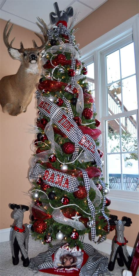 alabama crimson tide christmas tree alabama football
