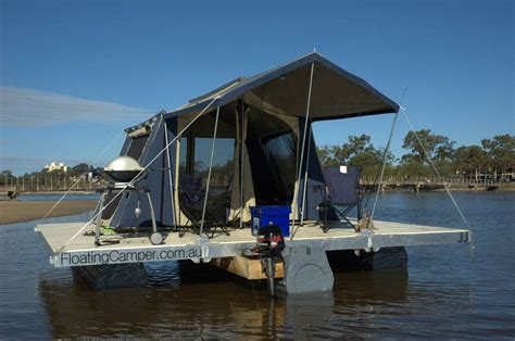 plateforme raptor boat cing on the water cing