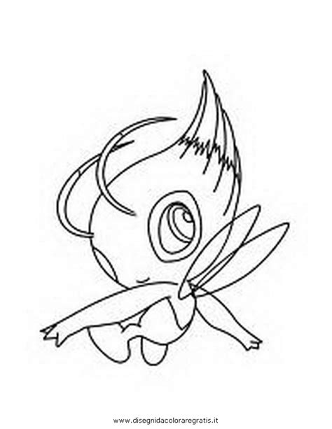 coloring pages of pokemon keldeo disegno pokemon celebi 2 personaggio cartone animato da