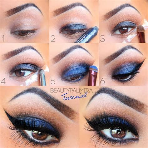 Eyeshadow Tutorial dramatic smokey tutorial by palmira r preen me