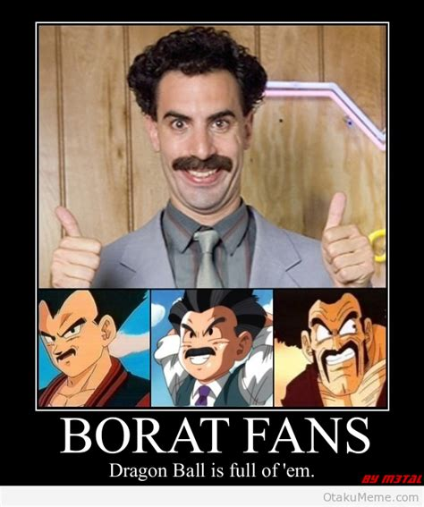 Borat Not Meme - otaku meme 187 anime and cosplay memes 187 borat s unique