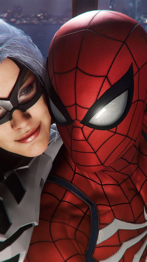 spider man  black cat  wallpapers hd wallpapers