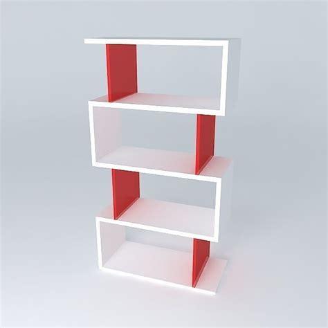 bookcase bookshelf free 3d model max obj 3ds fbx stl dae