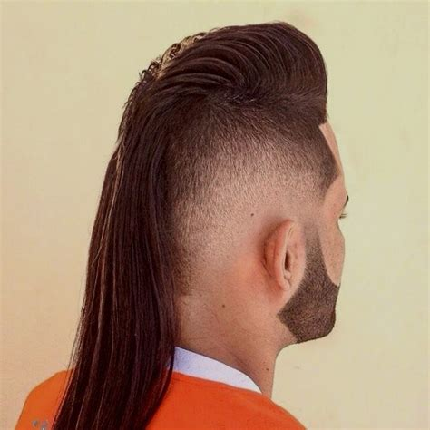 mohawk hair long in the front mullet haircuts party in the back business in the front