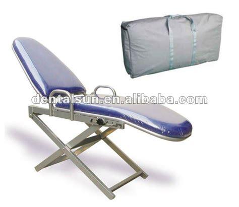 Kursi Gigi struktur paduan aluminium portabel kursi gigi untuk dijual