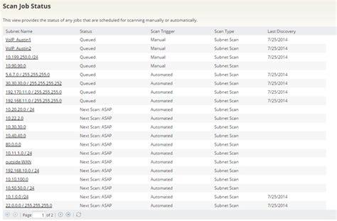 scan ip address ip address scanner network ip scanner solarwinds