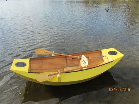 row boat plans quot mouse grande quot 7 6 quot 2 34m two sheet rowboat