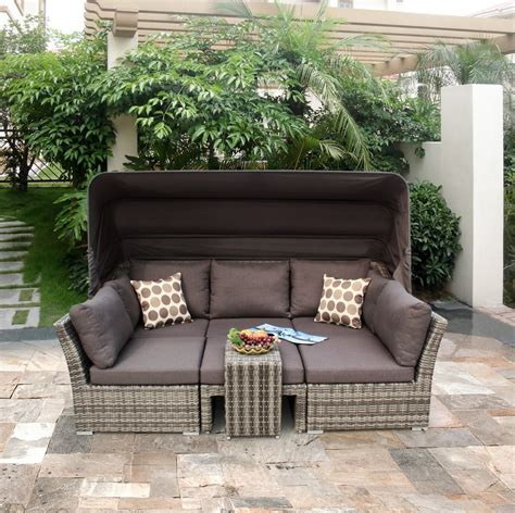 reclining outdoor furniture reclining rattan garden furniture is the popular choice