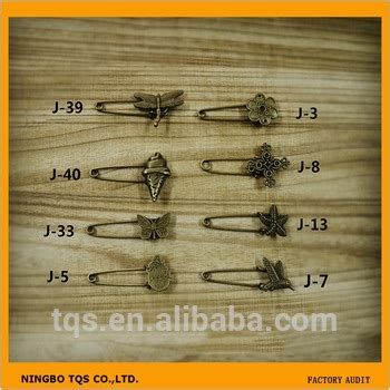 Tqs Fashion Import Ab805 fashion metal diy material pins brooch decoration vintage safety pin buy vintage safety pin