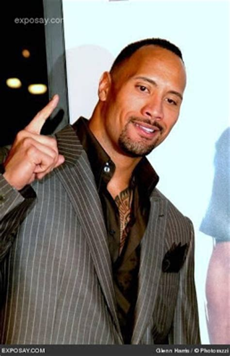 dwayne johnson longhorn tattoo celebrity man meat i can smell what the rock is cooking