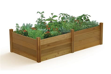 gronomics raised garden bed gronomics modular raised garden bed 48x95x26