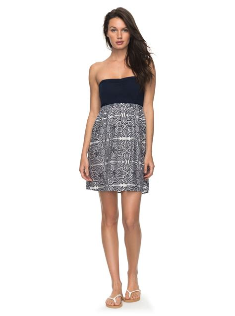 2 Die 4 Single Printed Jersey Strapless Dress by Strapless Dress Erjwd03147