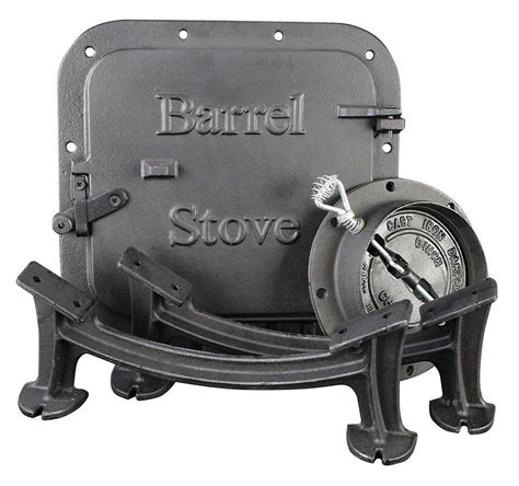 Barrel Stove Door by Vogelzang U S Stove Bk100e Bsk1000 Stove Barrel Stove Kit