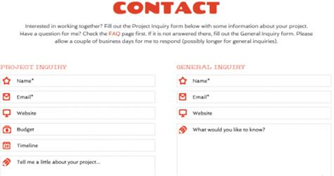 Contact Us Section Of Website by How To Make Your Contact Us Page Kick The Herald