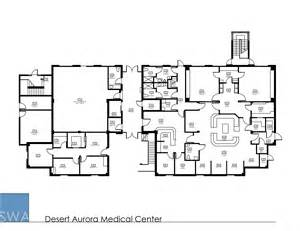 Ambulatory Surgery Center Floor Plans by Desert Aurora Medical Center Saunders Wiant Oc