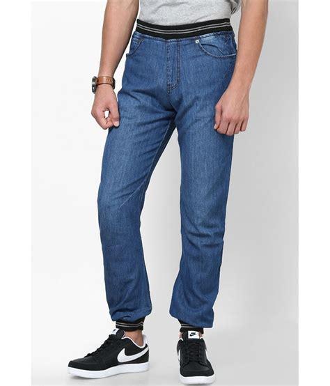 light blue jean joggers zaab light blue cotton joggers fit denim jeans buy zaab
