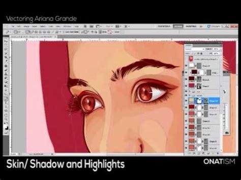 tutorial vector vexel photoshop time lapse vector vexel tutorial eye alpha mask w line art doovi