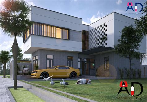 video house architect dose architecture sketchup tutorials models