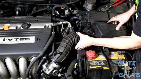 honda accord throttle body cleaning youtube