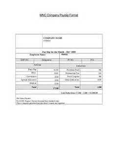 top 5 free payslip templates word templates excel templates